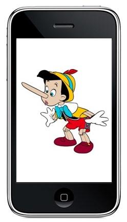 mentir en el teléfono