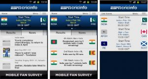 Una aplicación imprescindible para todos los amantes del cricket: ESPNcricinfo