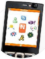 Uso de GPRS para chatear, llamar, etc.: descargue Nimbuzz