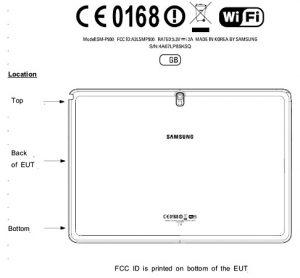 Variante del Samsung Galaxy Note 12.2 detectada en FCC