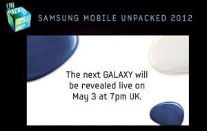 Vea la transmisión en vivo por Internet del lanzamiento del Next Galaxy (S III)