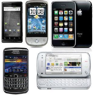 Los teléfonos inteligentes más altos de todos los tiempos