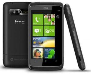 Verizon anunciará su primer dispositivo con Windows Phone 7 - HTC Trophy