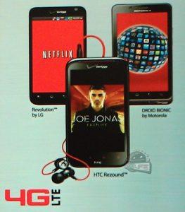 Verizon filtra el HTC Rezound en un cartel publicitario