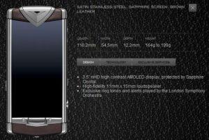 Vertu lanza el teléfono Symbian más caro del mundo