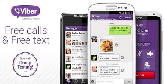 Viber para iPhone y Android actualizado a v2.2 con mensajería grupal y más