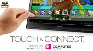 ViewSonic presentará una tableta ICS Android 4.0 de 22 pulgadas el 5 de junio