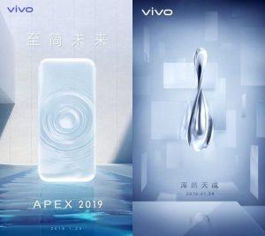 Vivo APEX con pantalla curva sin bisel se presentará el 24 de enero