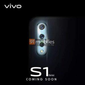 Vivo S1 con cámaras traseras triples y cámara frontal de 32 MP se lanzará pronto en India