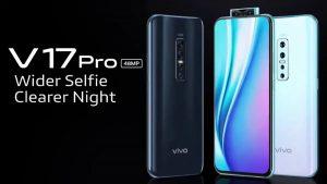 Vivo V17 Pro se vuelve oficial en India;  cuenta con SD675 SoC, cámaras traseras cuádruples y cámaras frontales duales