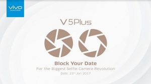 Vivo V5 Plus se lanzará en India el 23 de enero