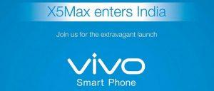 Vivo X5Max mide 4,75 mm de grosor y se lanzará en India el 15 de diciembre