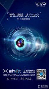 Vivo XShot con cámara de 24 MP se lanzará el 7 de mayo