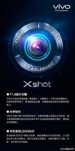 Vivo Xshot con cámara de 24 MP con tecnología Exmor RS.