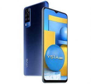 Vivo Y51A lanzado en India por ₹ 17,990;  cuenta con SD662 SoC, 8 GB de RAM y cámaras traseras triples