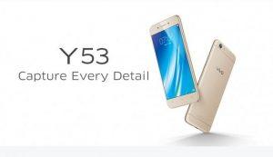 Vivo Y53 con pantalla de 5 pulgadas lanzado en India por Rs.  9990