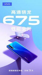 Vivo lanzará pronto un nuevo teléfono inteligente con el chipset Snapdragon 675