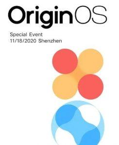 Vivo lanzará su nuevo OriginOS el 18 de noviembre