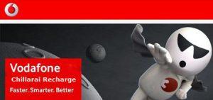 Vodafone (Tamil Nadu) ofrece reemplazar 'Chillarai' con Recharge