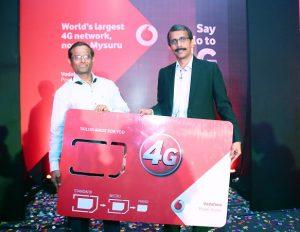 Vodafone lanza servicios 4G LTE en Mysuru en Karnataka
