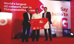 Vodafone lanza servicios 4G LTE en Thiruvananthapuram en Kerala