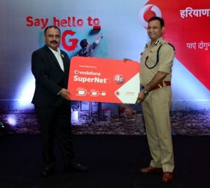 Vodafone lanza servicios 4G en Hisar en Haryana