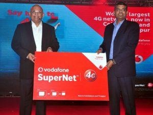 Vodafone lanza servicios 4G en Tamil Nadu