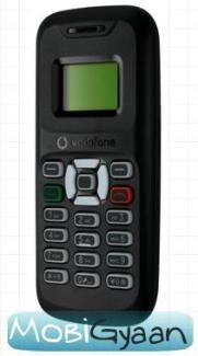 Vodafone lanza un teléfono móvil de ultra bajo costo en Rs.799 en India