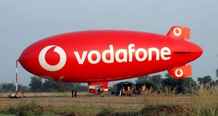 Vodafone ofrece un vuelo en dirigible por el logro de 100 millones de clientes