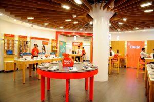 Vodafone presenta un concepto minorista de diseño innovador en Mumbai