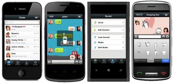 Aplicación WeChat