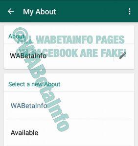 WhatsApp Beta para Android recupera la función de estado anterior