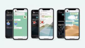 WhatsApp ahora admite fondos de pantalla personalizados para chats individuales, búsqueda de calcomanías mejorada y más
