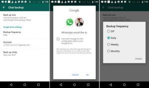 WhatsApp ahora le permite hacer una copia de seguridad y restaurar sus conversaciones desde Google Drive