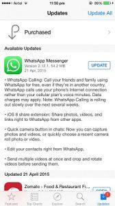 WhatsApp lanza la función de llamadas de voz para usuarios de iPhone