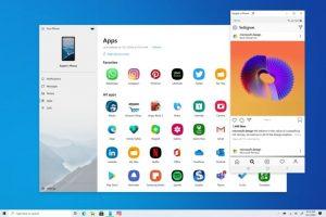 Windows 10 build 20185 ahora le permite ejecutar fácilmente aplicaciones de Android