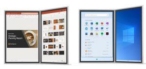 Windows 10X de Microsoft se centra en dispositivos de pantalla única
