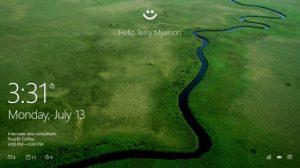 Windows Hello para llevar la autenticación biométrica usando su rostro, huella digital o iris