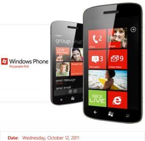 Windows Phone 7.5 se lanzará en India el 12 de octubre