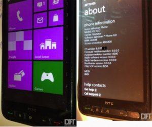 Windows Phone 8 pirateado y adaptado para funcionar en el gran HTC HD2
