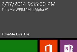 Windows Phone 8.1 puede venir con Live Tiles de 1 minuto