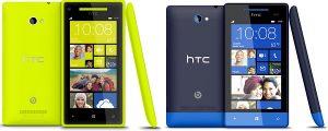 Windows Phone 8X de HTC y 8S se lanzará en India la próxima semana