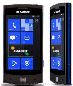 Windows Phone LG Jil Sander especificaciones y foto de prensa