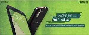 XOLO Era 2 con pantalla de 5 pulgadas y soporte 4G aumenta para preinscripción a partir del 20 de octubre
