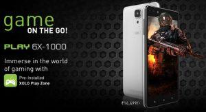XOLO Play 6X-1000 lanzado para entusiastas de los juegos