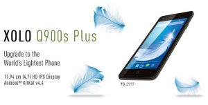 XOLO Q900s Plus con pantalla HD de 4.7 pulgadas disponible en línea para Rs.  7999