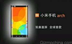 Xiaomi Arch con doble borde curvo filtrado