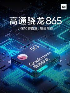 Xiaomi Mi 10 con tecnología Snapdragon 865 SoC confirmado para lanzarse en el primer trimestre de 2020