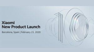 Xiaomi Mi 10 confirmado para lanzarse el 23 de febrero