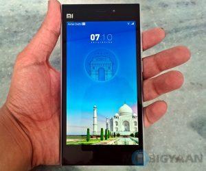 Xiaomi Mi 3 saldrá a la venta en Flipkart a las 2 pm de hoy